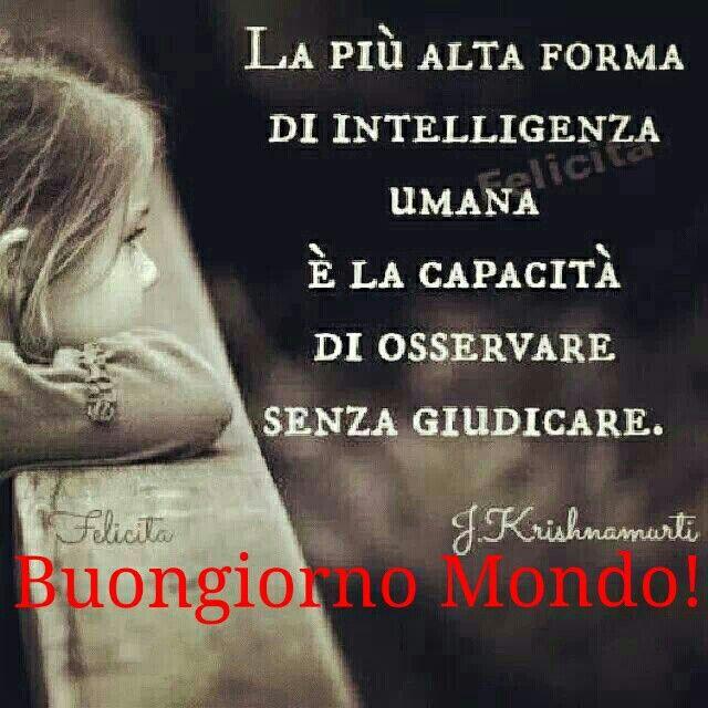 Osservare Senza Giudicare Imparare Italiano Citazioni