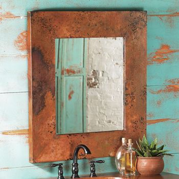 Crows Nest Trading Co. Copper Mtn Vanity Mirror