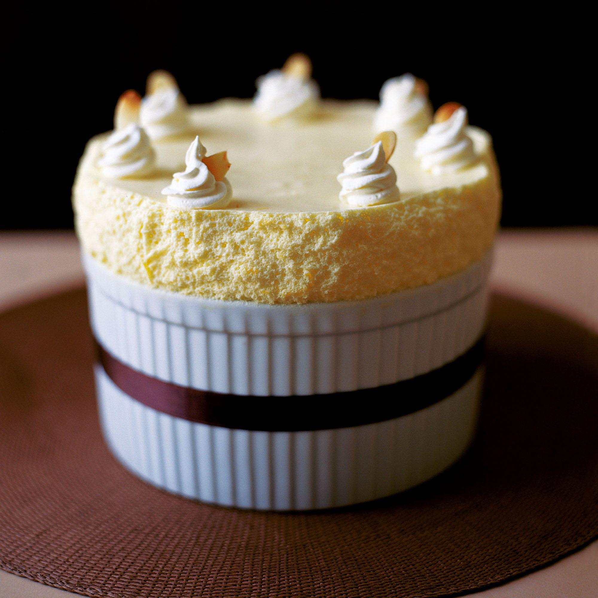 Chilled Lemon Souffle   Recipe   Desserts   Lemon souffle ...