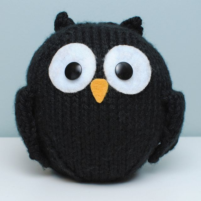 little black owl.