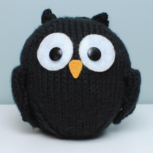 little black owl.