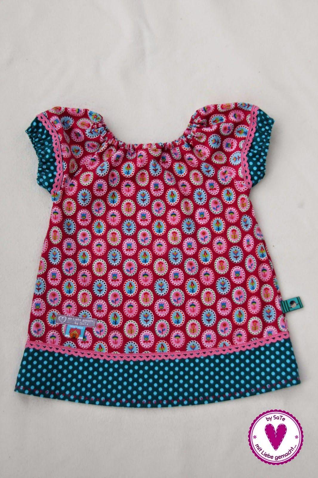 by SaTe : Eine kleine Mädchen-Tunika... | Детские платья | Pinterest ...