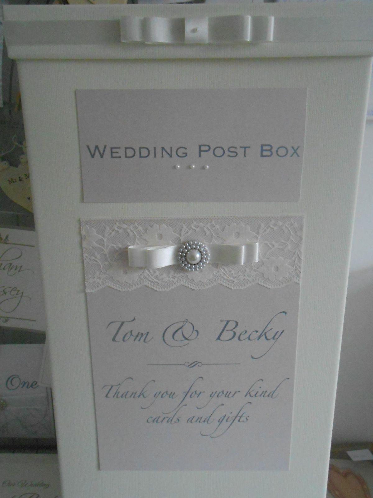 Gorgeous Pearl And Lace Wedding Post Box X Www Uberflyinvites Co Uk