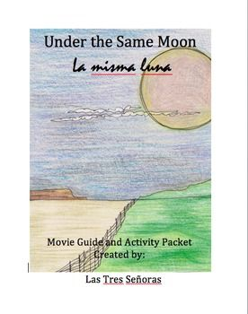 La misma luna under the same moon movie guide activity packet our activities are in spanish and english the film brings awareness to the journey that many immigrants take to get to the fandeluxe Gallery