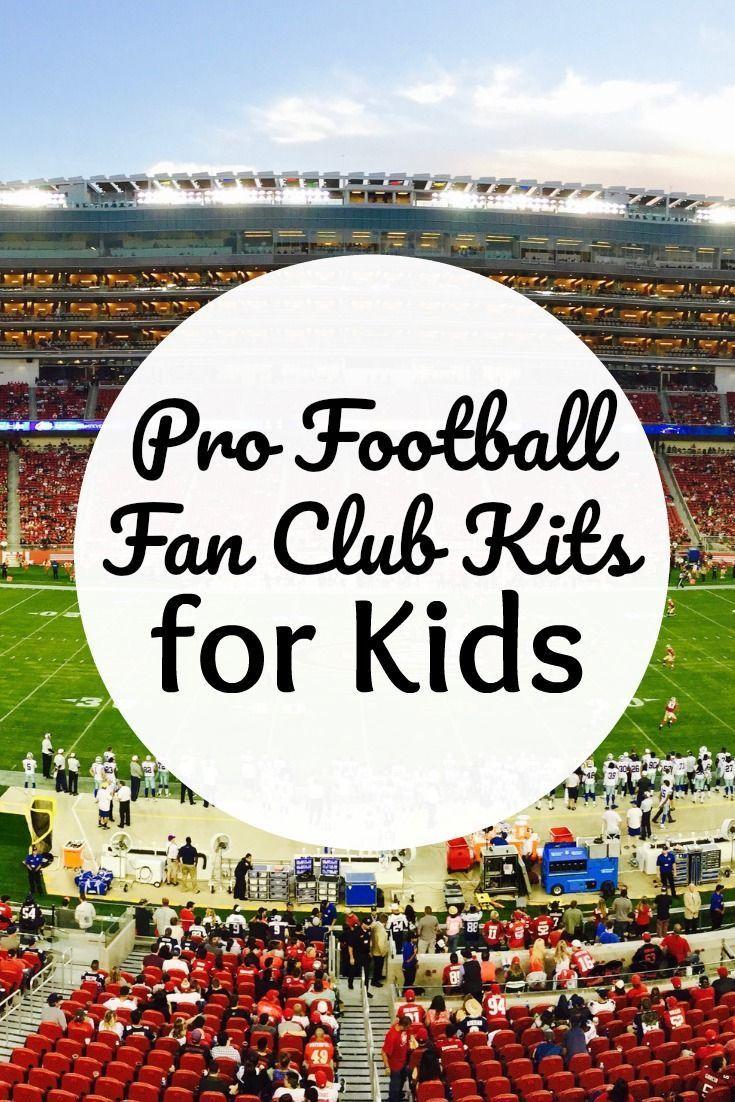 NFL Kids Fan Club Kits Kids fans, Football kids, Kids club