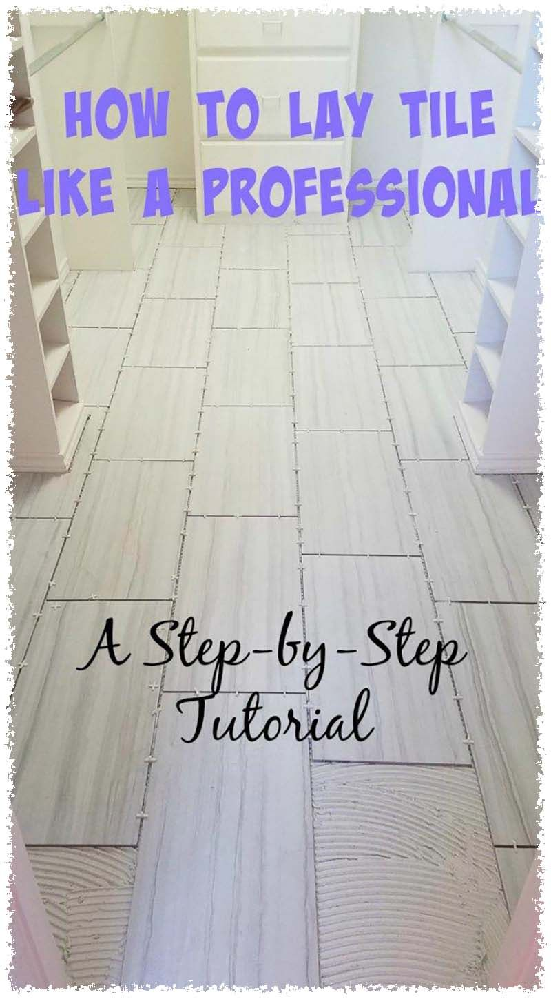 Removing Old Carpeting And Installing A Laminate Floor How To Lay Tile Diy Flooring Tile Floor Diy