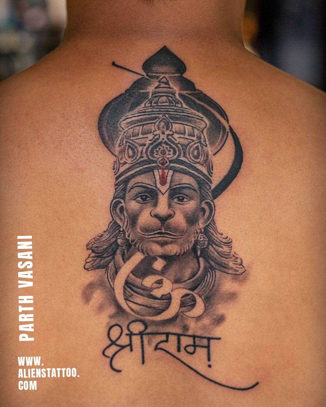 Realistic Hanuman Tattoo By Parth Vasani At Aliens Tattoo India Hanuman Tattoo Shiva Tattoo Design Krishna Tattoo Hanuman tattoo hd wallpaper