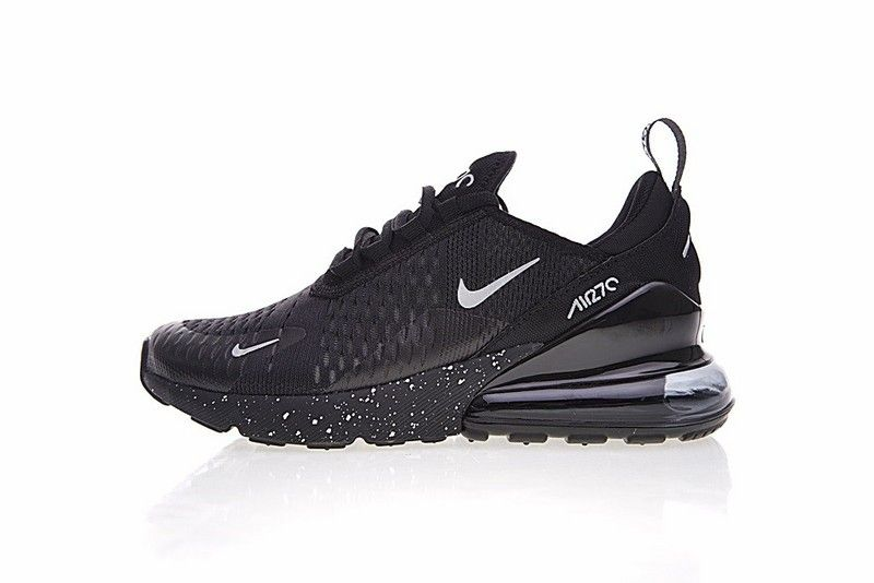 nike air max 270 trainers in nero ah8050 002