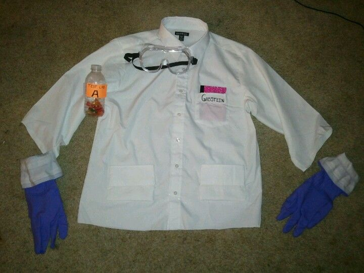 Kids Science Lab Coat with I Love Science Embroidery Design