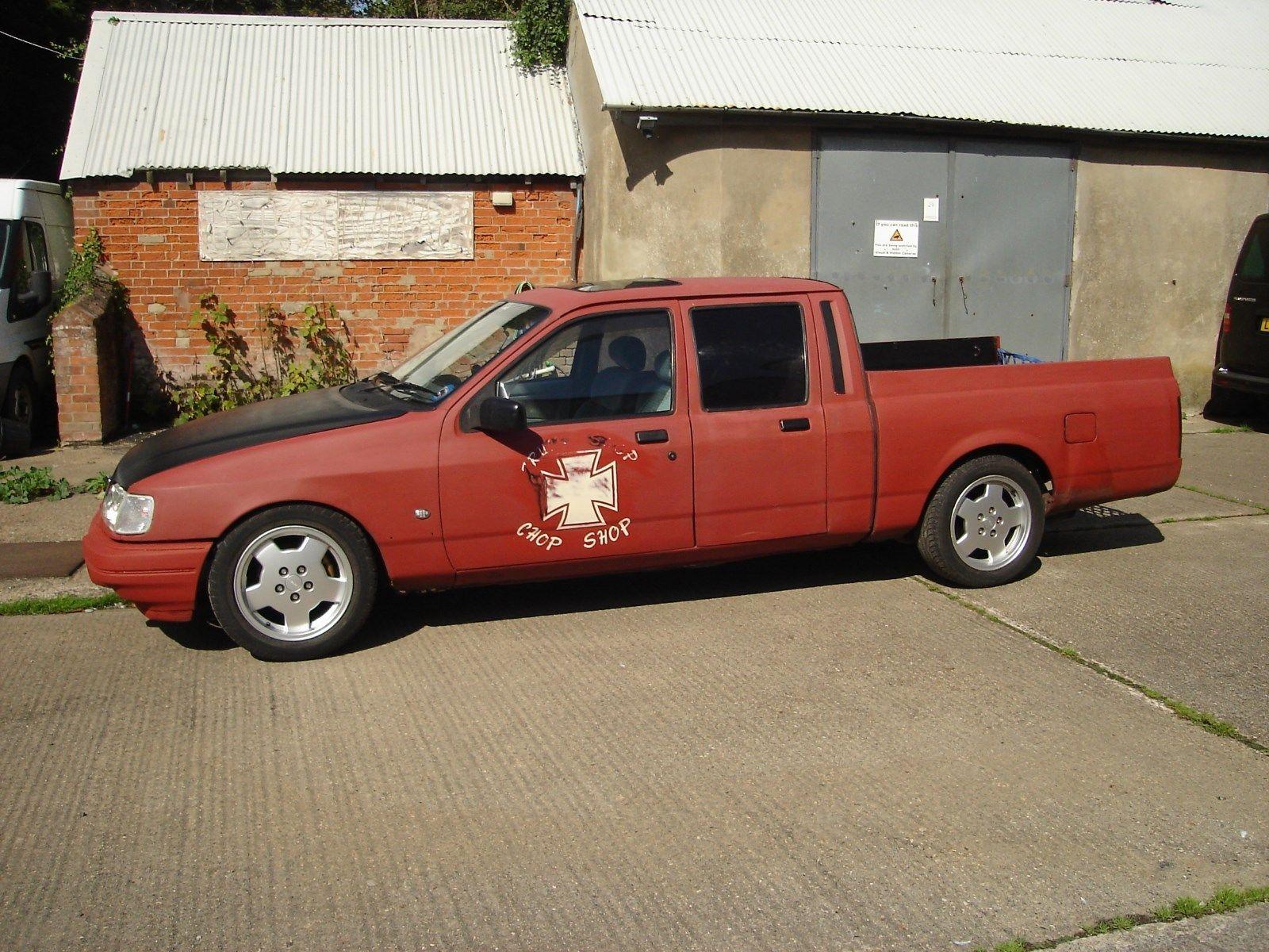 This 1992 ford p100 crew cab sierra ,custom car/truck hotrod ...