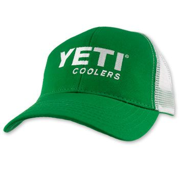 2ffa38399a2 Yeti Coolers Adjustable Trucker Hat - Green  yeti  truckerhat  hats   yeticooler