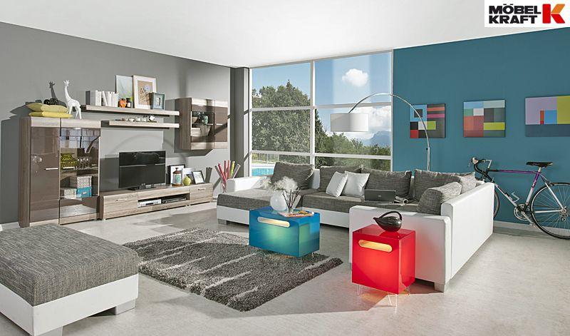 Wohnzimmer Junges Wohnen - entdeckt bei Möbel Kraft | Sofa ...