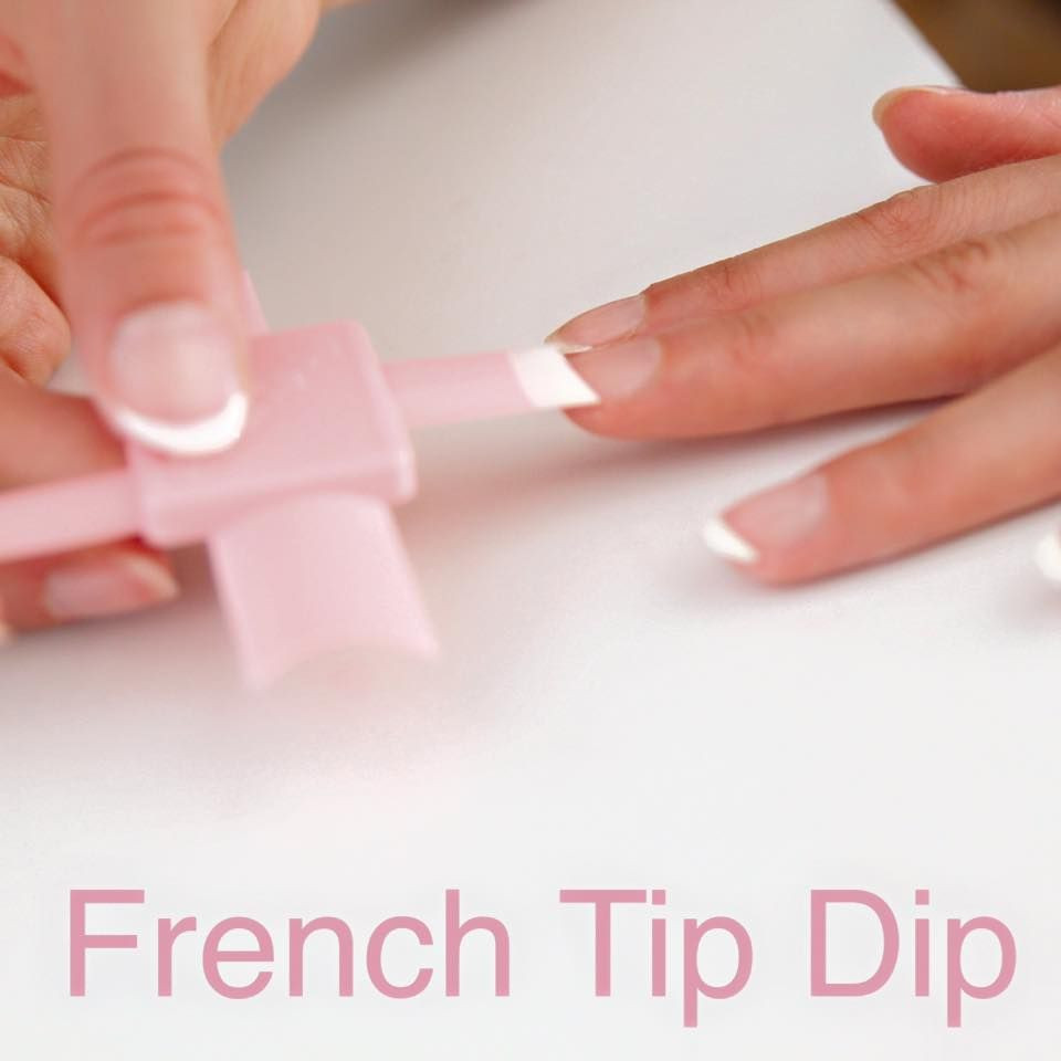 Delightful DIY French Manicure At Home With This Genius Nail Tool   French Dip Tip ❤️
