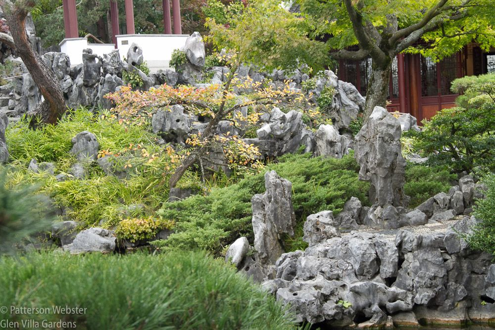 Tai rocks are essential elements in a Ming dynasty garden