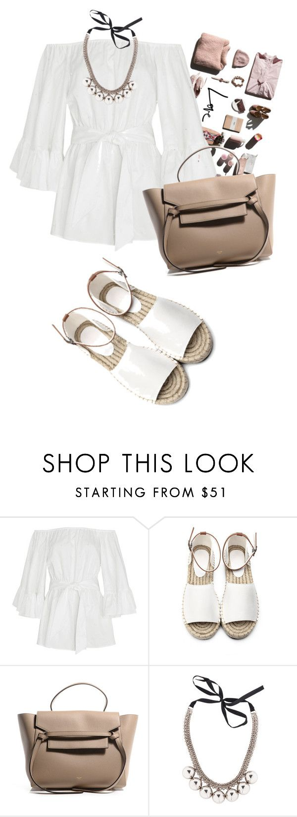 """lovelyhard"" by namelif ❤ liked on Polyvore featuring Garance Doré, Cameo, Marni, DayToNight and romper"
