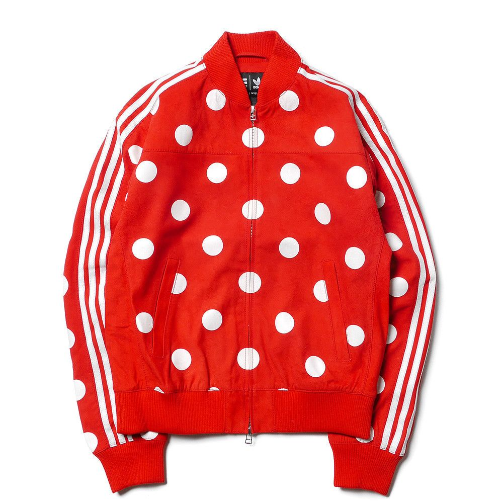 Originals x Pharrell Williams cuir Track Top