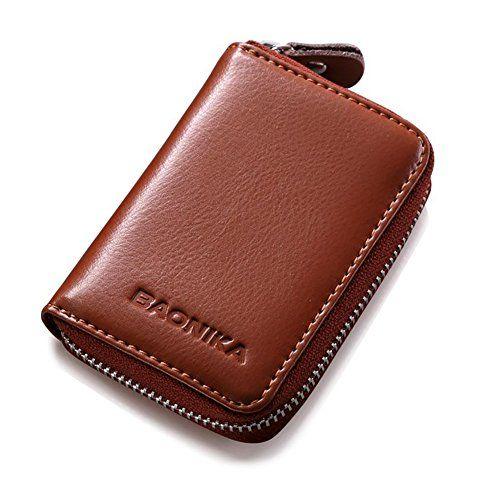 Rfid Schutz Klein Fein Universal Leder Kreditkartenetui