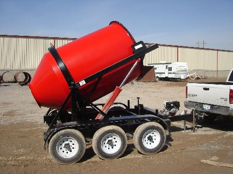 2dh 2 2 Yard Portable Concrete Mixer Mix Right Concrete Mixers Cement Mixers Concrete Truck