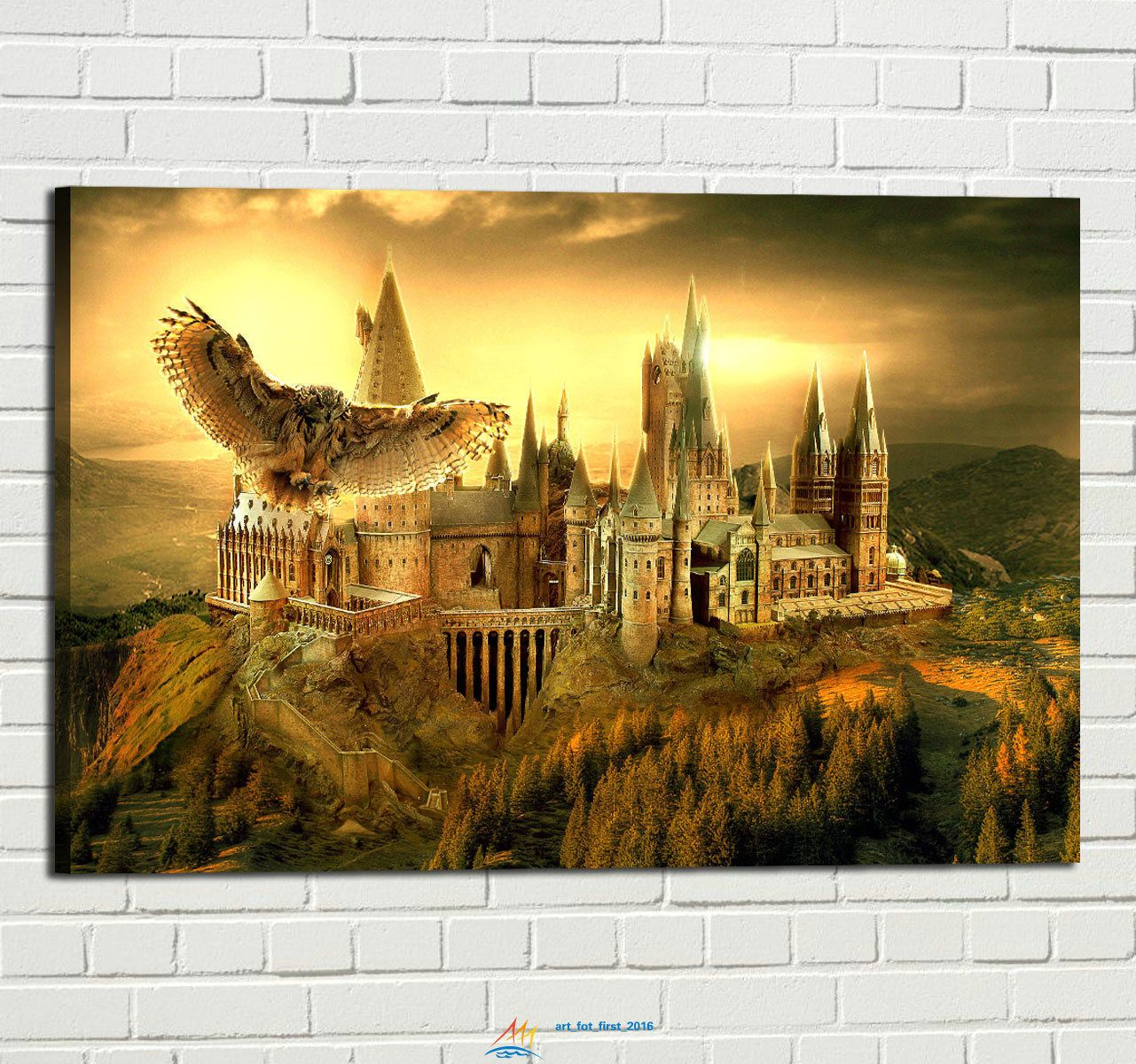 Hd Print Oil Painting Home Wall Decor Art On Canvas Harry Potter ...