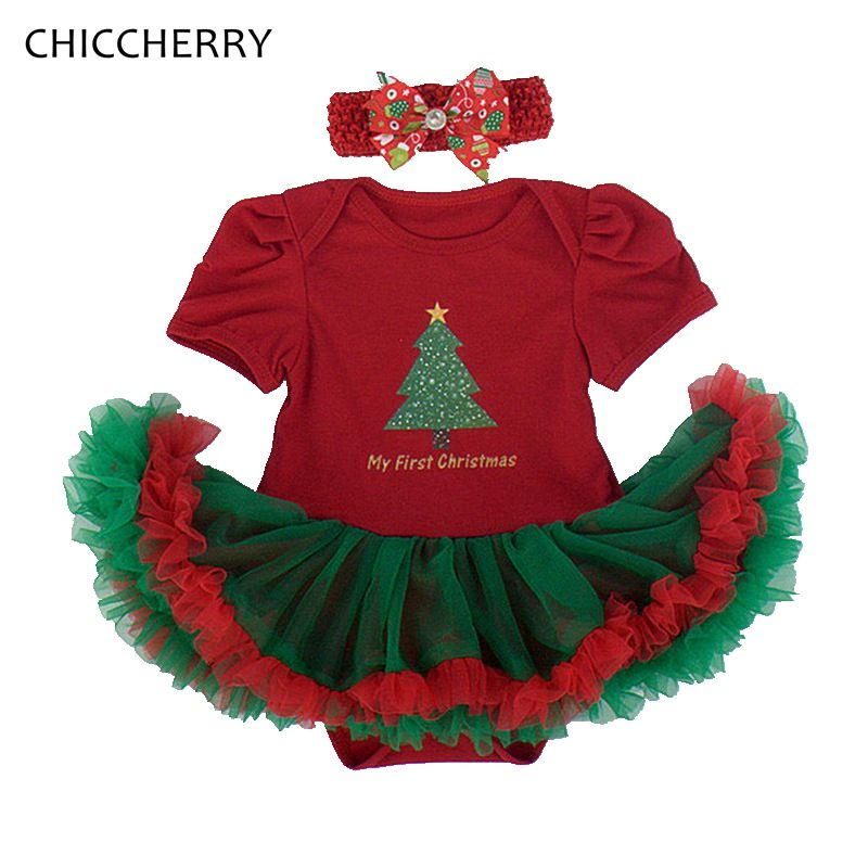 >> Click to Buy << My First Christmas Costume for Girls Red Dresses Headband Newborn Tutu Sets Baby Girl Clothes Toddler Christmas Outfits Clothing #Affiliate