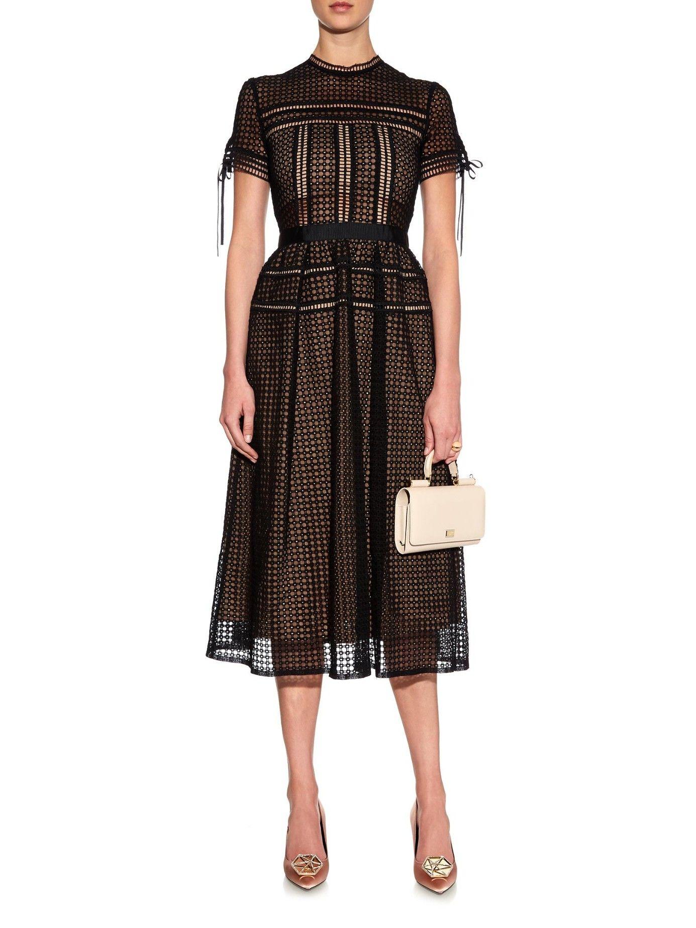 77c94e1fc4 Aurelia lace midi dress