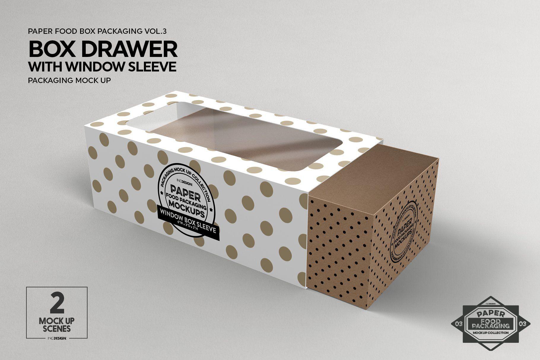 Download Vol 3 Food Box Packaging Mockups Ide Kemasan Mockup Kemasan