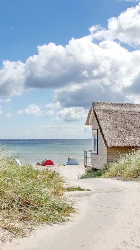 Urlaub Scharbeutz: Verbringen Sie Urlaubstage am Strand von Scharbeutz und Haffkrug. #strandhuis
