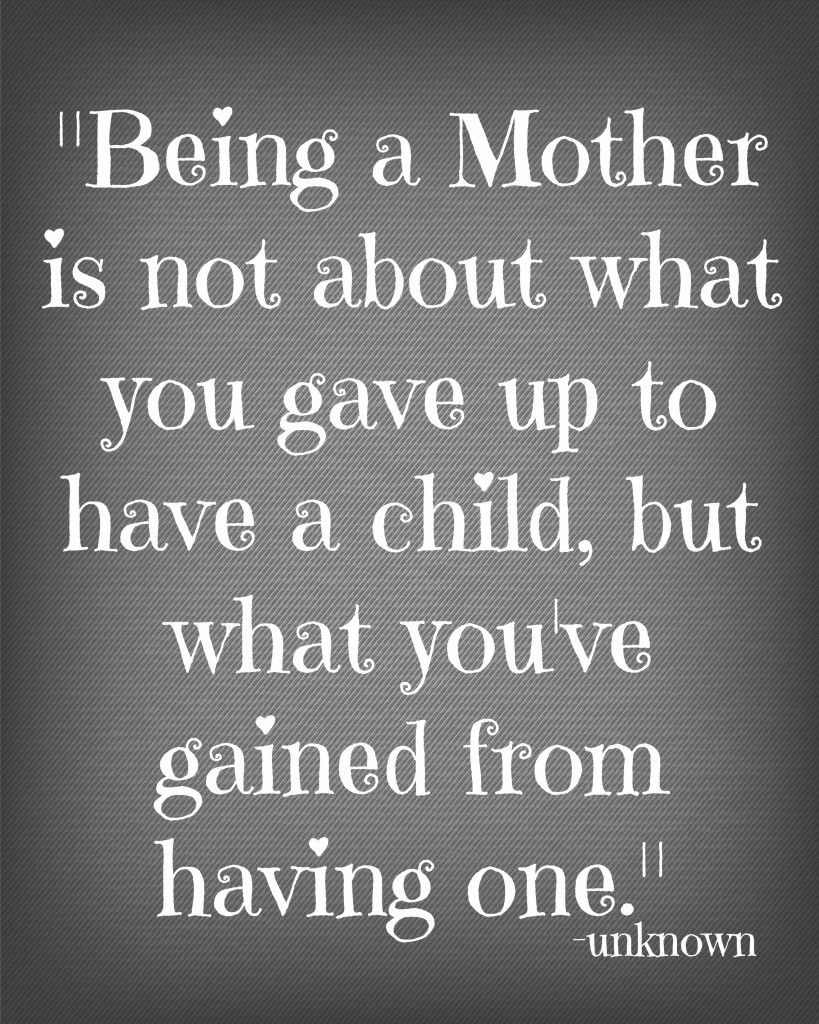 being a young mom was the best thing that happened to me as my son made me grow up in so many ways And I m still growing with both my boys wouldnt change