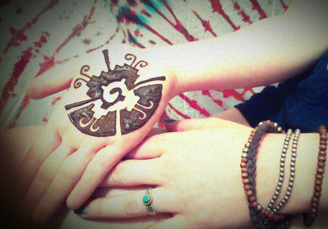 Mehndi Henna Butterfly : Cosmic galactic butterfly henna mehndi love