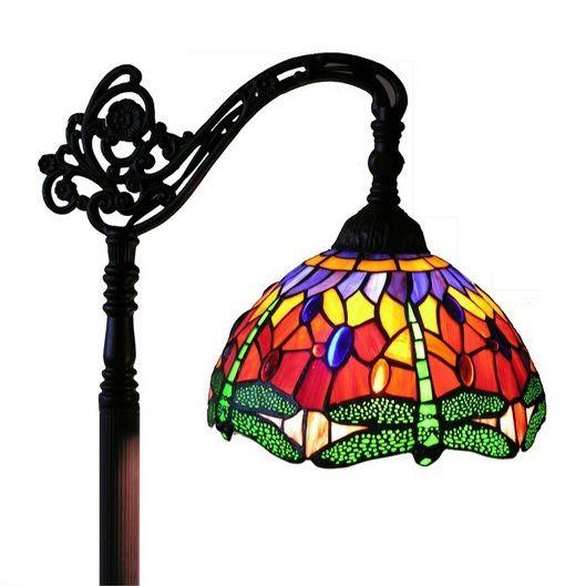 Warehouse Reading Light: Warehouse Of Tiffany Dragonfly Reading Lamp