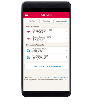 Online Banking From Bank Of America Start Banking Online Today Online Banking Banking Banking App