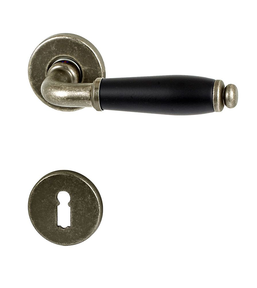 Türbeschläge Antik details zu türbeschlag fi 1112 antik schwarz r drückergarnitur