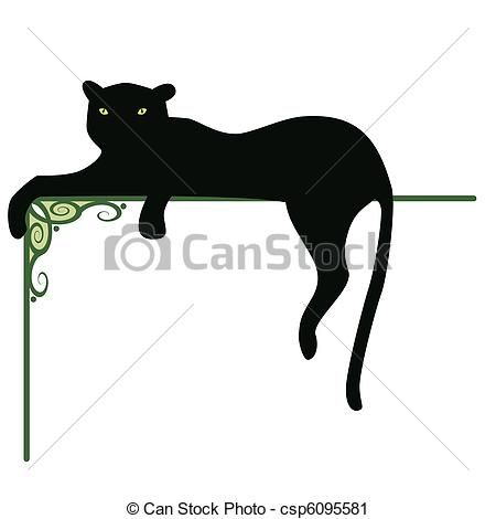 panther vector clip art royalty free 1 948 panther clipart vector rh pinterest com au panther clipart images Baby Panther Clip Art