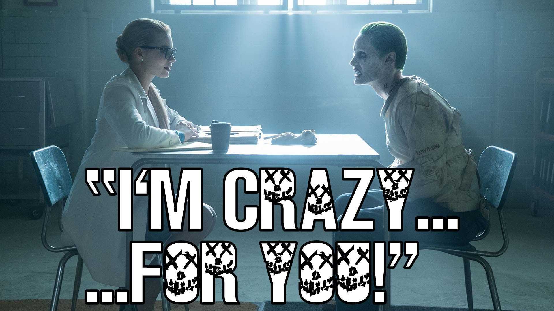 Im Crazyfor You #Suicidesquad #Joker #Harleyquinn