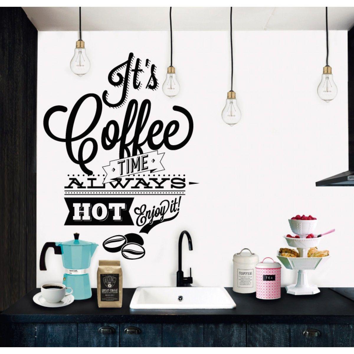 Coffee Time Vinilos Pinterest Amantes Del Caf Vinilos