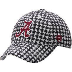 Alabama Crimson Tide Top of the World Jock II 1Fit Flex Hat - Houndstooth