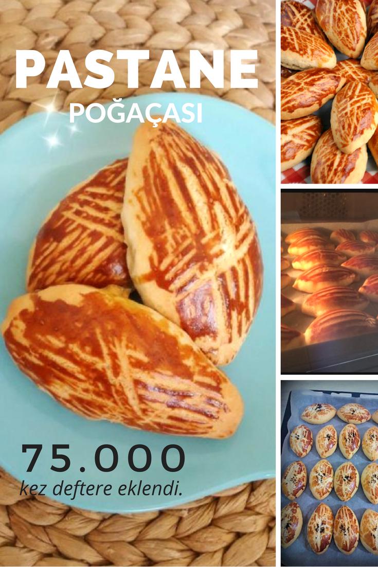 Pastane Poğaçası (nişastalı) Tarifi
