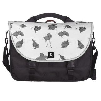 Strange Creatures Laptop Bag