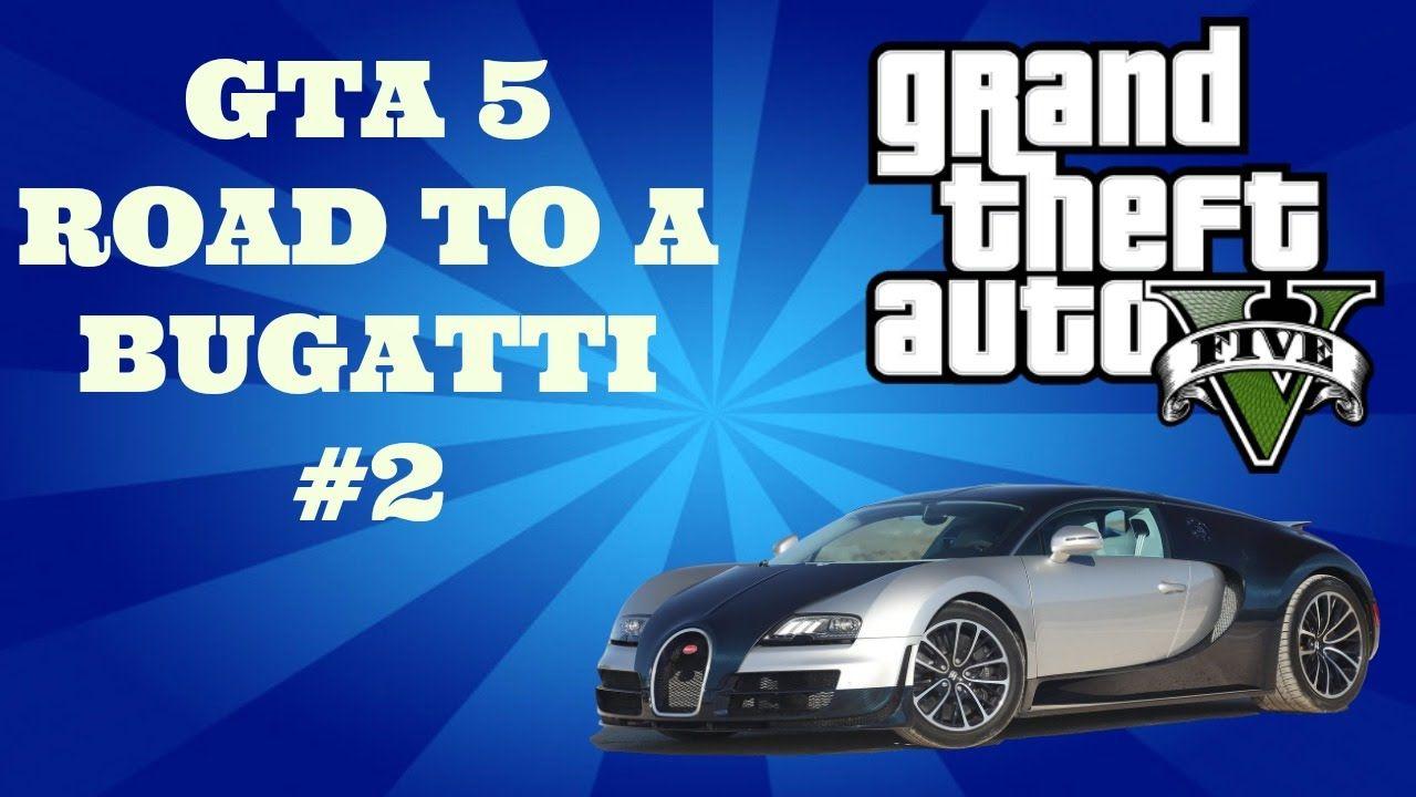 "GTA 5 Online - Road To A Bugatti #2 - ""Cops Can't Get Me!!!!"" (GTA V Onl..."