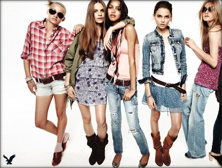 free online clothes: American eagle clothes