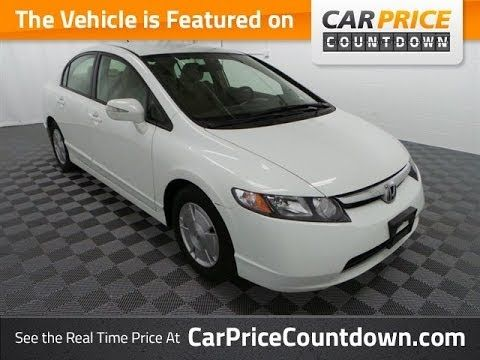 2008 Honda Civic Hybrid Best Pre Owned Cars At Car Price Countdown Used Cars For Sale Civic H 2008 Honda Civic Hybrid 2008 Honda Civic Honda Civic Hybrid