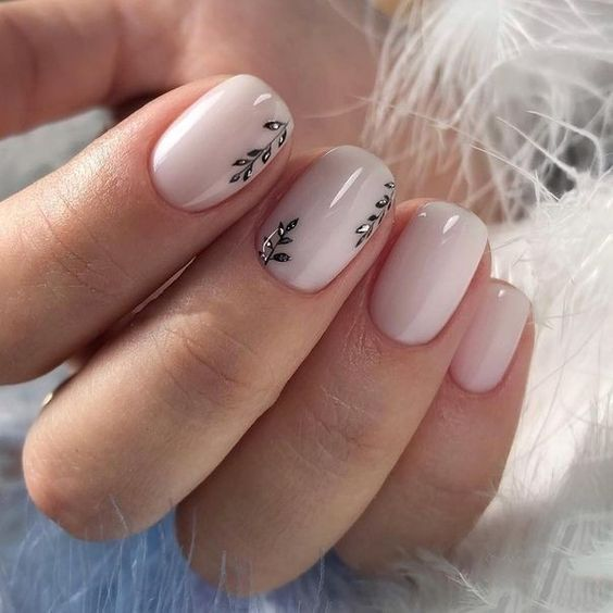 12 Trendy Stunning Manicure Ideas For Short Acrylic Nails Design