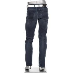Alberto Jeans-Hose Herren, Baumwoll-Stretch, blau Albertoalberto