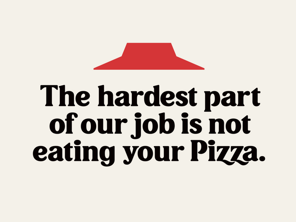 Type Tuesday No One Out Pizzas The Pizza Hut Font Pizza Hut Pizza Hut Logo The Works Pizza