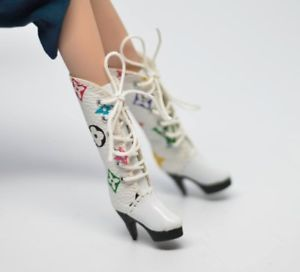 Fashion Royalty Pullip Boots for Blythe//Blythe Shoes// Barbie Boots// Silk stone