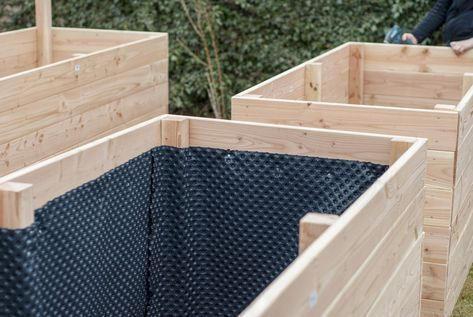 Build A Raised Bed Yourself Explained Step By Step With Many Pictures Portable Raised Garden Beds Raised Beds Raised Garden Beds