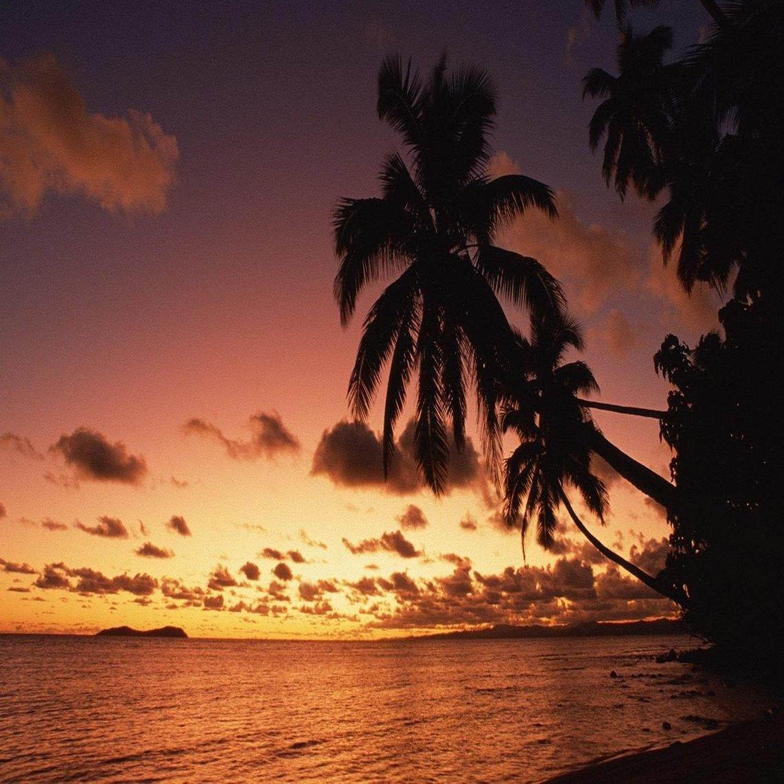 Island Sunset Fiji