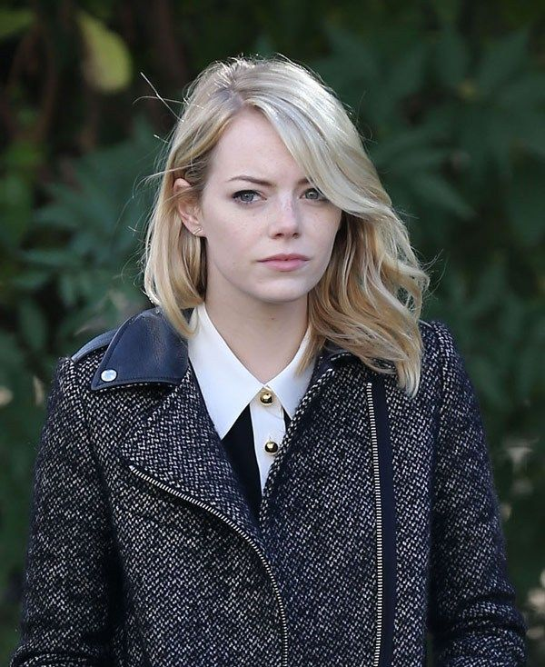 Stars Without Makeup Pics Emma Stone Blonde Emma Stone Hair Emma Stone