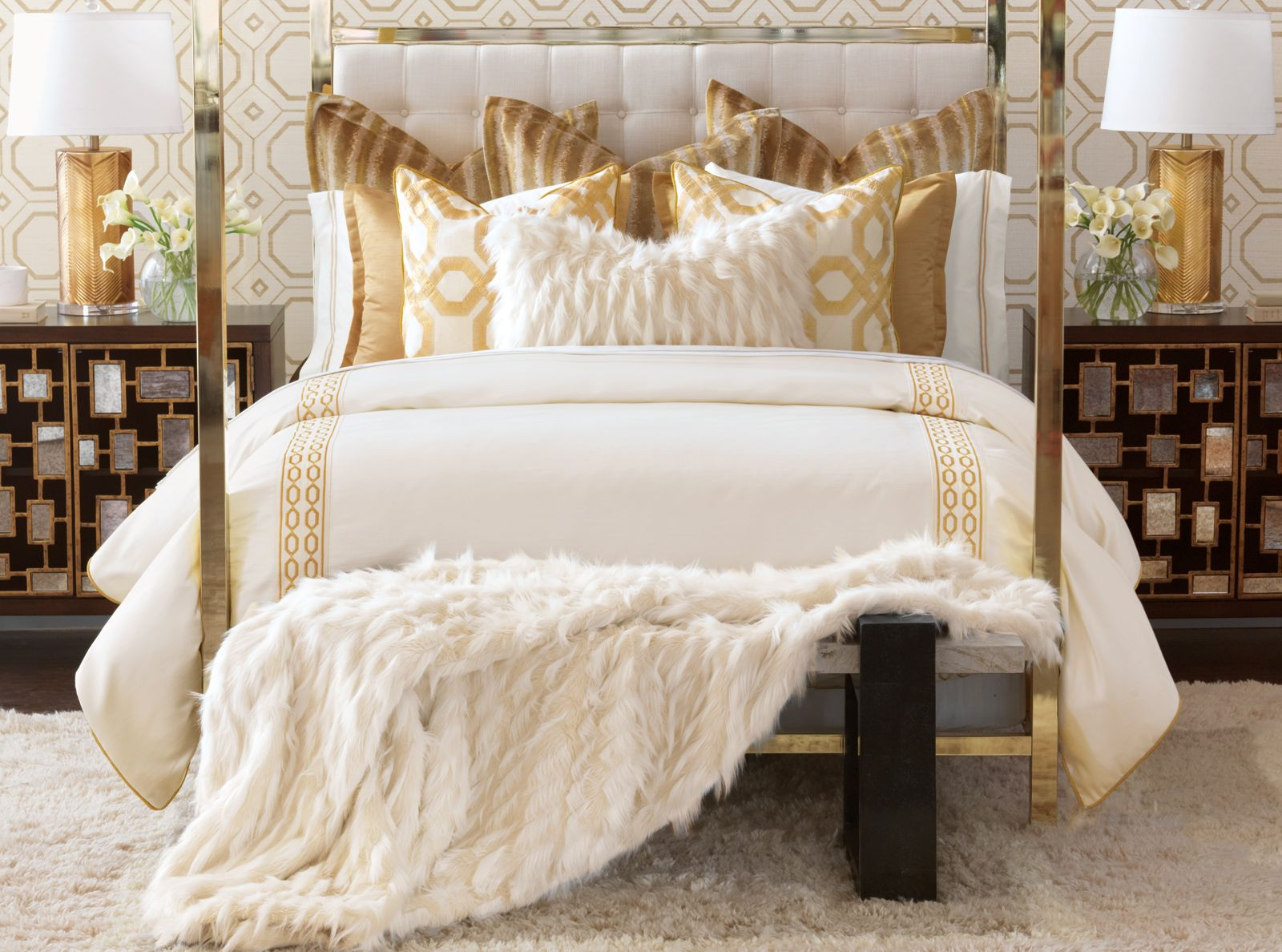 Barclay Butera Luxury Bedding by Eastern Accents - Luxe Collection ...