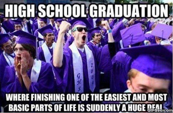 High School Graduation Memes Funny Graduation Meme High School
